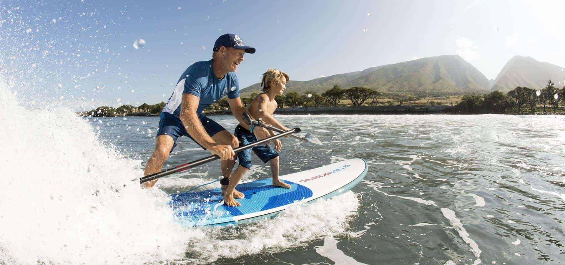 EINER DER BESTEN PLÄTZE FÜR SUP SURF IN GRIECHENLAND
