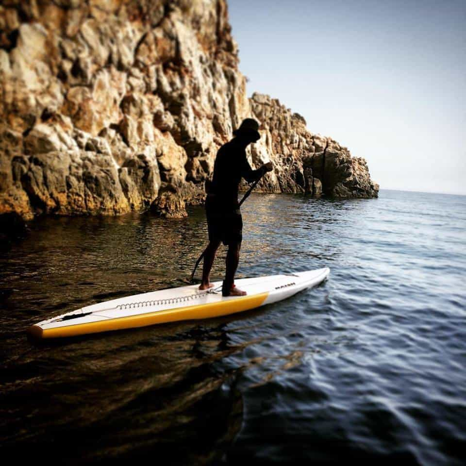 Kamari – Perissa SUP Surf Guided Trip3