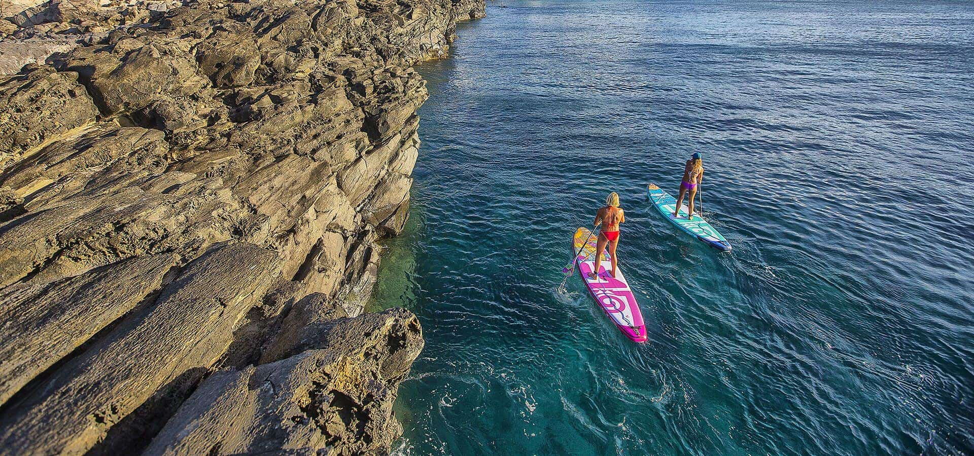 SUP SURF EXCURSIONS IN SANTORINI